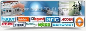 Nos artisans électriciens agrée edf du 75007 vous apporteront conseils et solutions afin de régler au mieux votre problème électrique sur Paris 7 . Ces derniers utilisent du matériel agree de qualité des marques Hager, Applimo, Arnould, Legrand, Sylvania, Merlin Gerin, Aric etc.