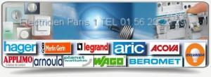 Pour toutes vos interventions dans le 75001, notre entreprise d électricité vous dépanne rapidement et vous fournit du matériel des plus grandes marques en électricité comme Legrand, Aric, Hager, Sylvania, Merlin Gerin, Applimo, Arnould, Claude, Acova, Beromet, Schneider etc Nos artisans électriciens sont qualifies, ils se rendent a paris 1er en moins de 30mn et son spécialise dans la recherche de pannes électriques et de court circuits, de la remise au norme de votre installation etc