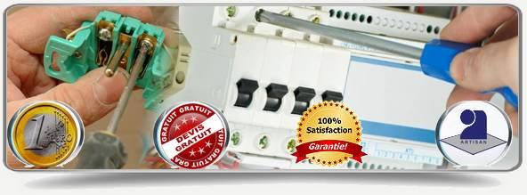 Disponibilité des électriciens 95 tous les jours de la semaine de 8 heures à minuit pour tous vos travaux sur vos diverses installations électriques. Nos techniciens du Val d'Oise se déplacent jusqu'à votre domicile et rédigent le devis pour vos travaux en électricité GRATUITEMENT!
