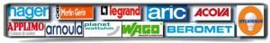 Pour toutes vos interventions électricien  Paris vous fournit du matériel des plus grandes marques en électricité comme Acova, Legrand, Beromet, Merlin Gerin. N'hésitez pas a nous contactez pour toutes vos questions: Devis, renovation etc
